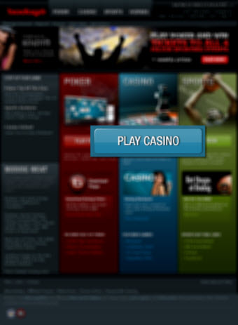 Bodog homepage image