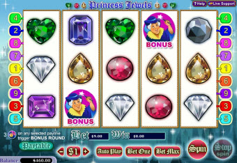 Diamonds and Jewels slot pic