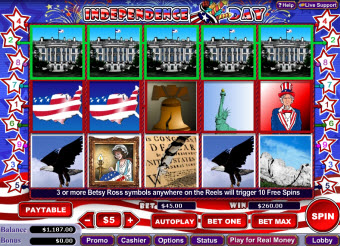 Independence Day slot image