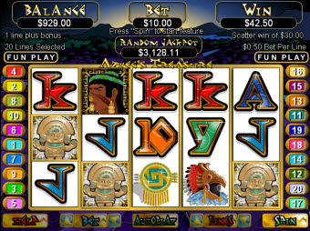 Aztec Treasure slots for Mac