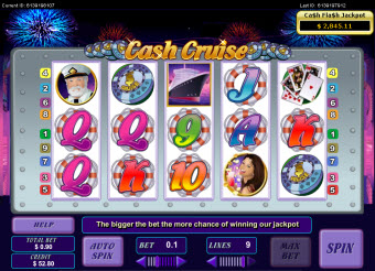 Cruise themed slots image
