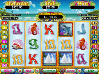 Underwater theme slot image