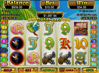 Goldbeard Jackpot slot game image