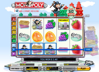 Monopoly game slot machine pic
