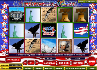 Independence Day slots for Mac image