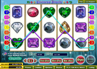 Princess Jewels slots pic
