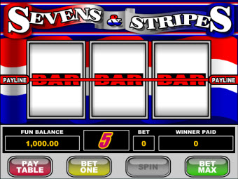Sevens and Stripes Slot Game