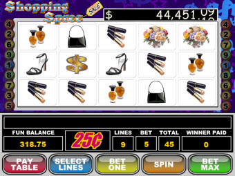 Shopping Spree Slots Game