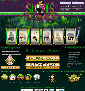SlotsJungle Website