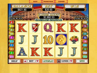 Caesars Empire Slots Online for Mac