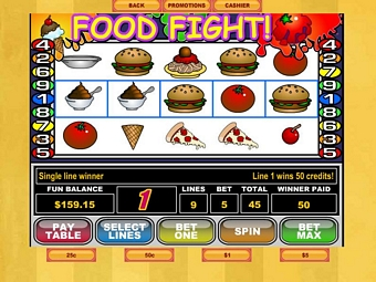 Food Fight Slots for Mac