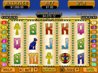 Cleopatra Egypt Slots for Mac