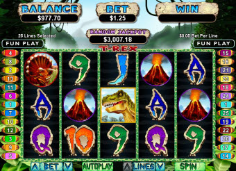 Dinosaur Slots Game for Macs