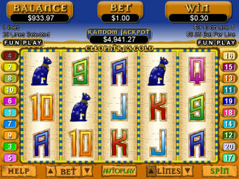 Egyptian Cats Cleopatra Slots for Mac